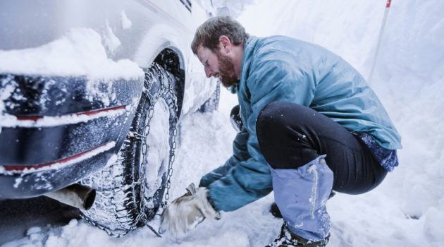 Benefits of using snow chains