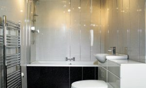 Select the shower wall covering of your choice for your bathroom