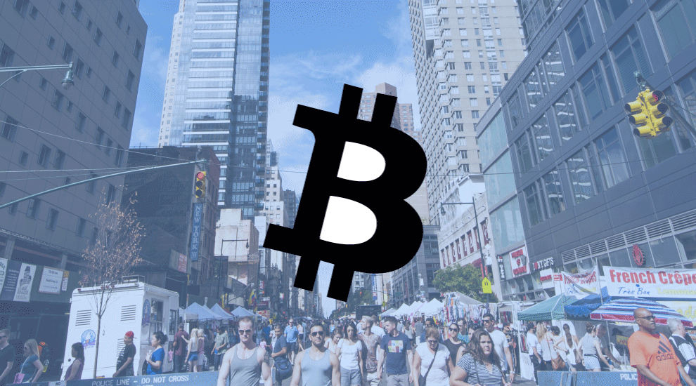 The cost of cryptocurrency or bitcoin